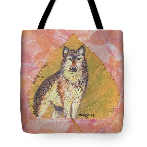 Alpha Male On Natural Leaf Tote Bag