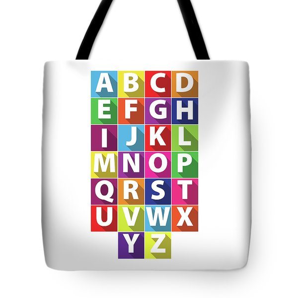 Alphabet Tote Bag by Samuel Whitton