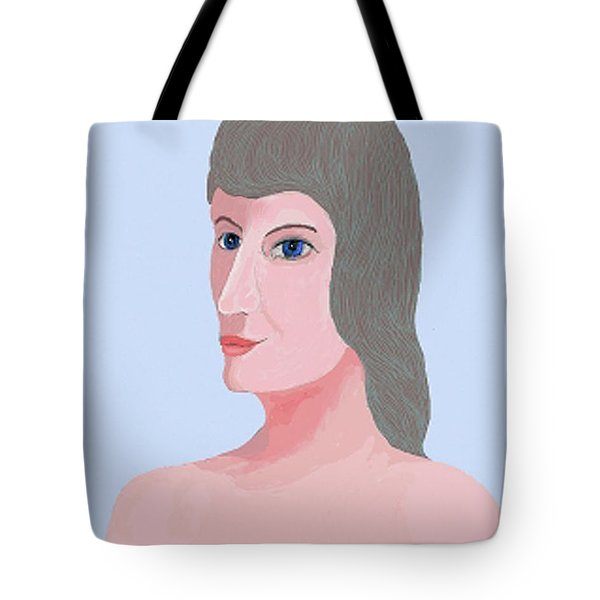 Alphie Tote Bag by Fred Jinkins