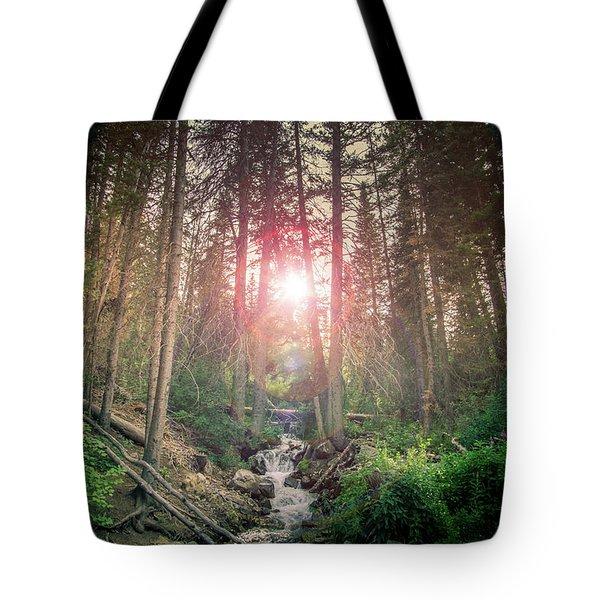 Alpine Flare Tote Bag