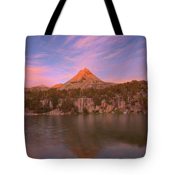 Alpine Glow Tote Bag