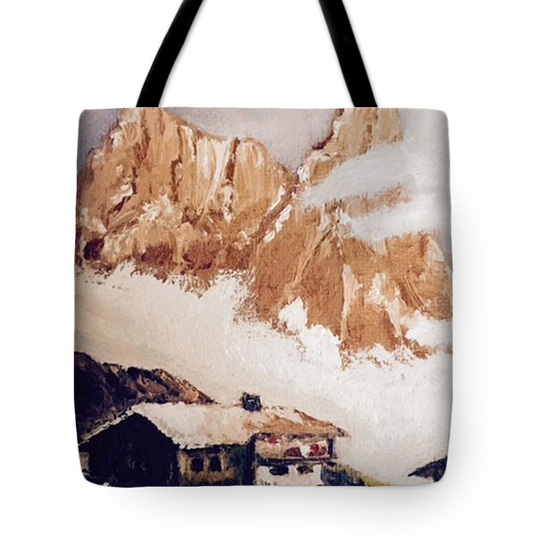 Alpine Home  Tote Bag