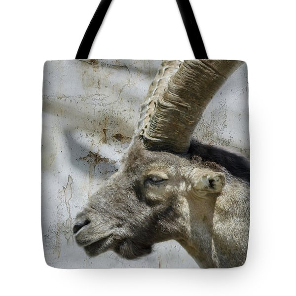 Alpine Ibex Textured Tote Bag