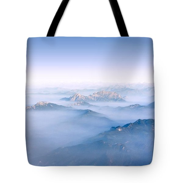 Tote Bag featuring the photograph Alpine Islands by Dmytro Korol