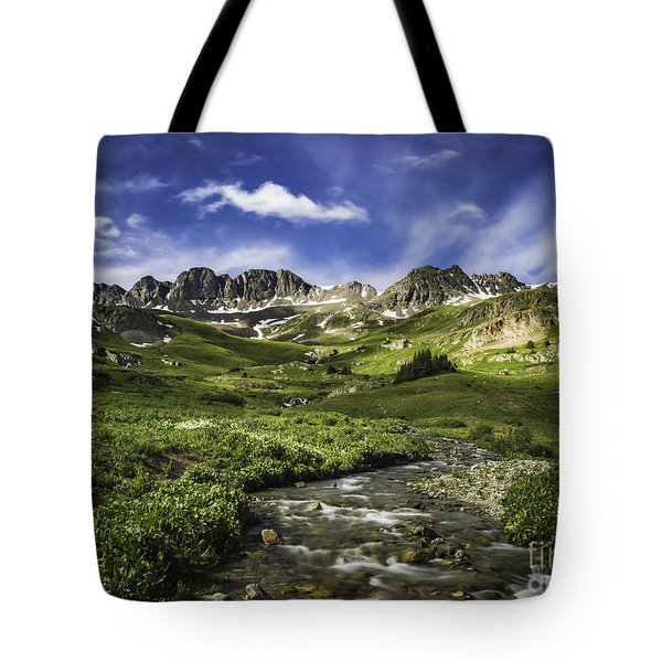 Tote Bag featuring the photograph Alpine Loop  by Bitter Buffalo Photography