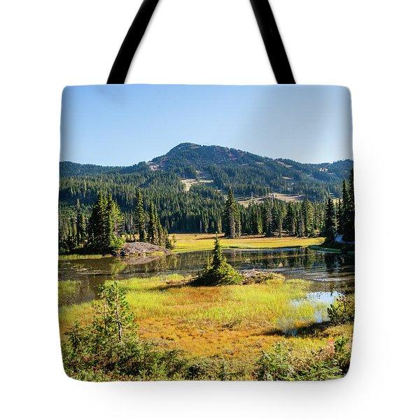 Alpine Meadows - 1 Tote Bag