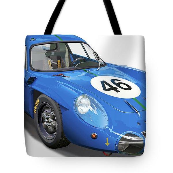 Alpine Renault A210 Tote Bag by Alain Jamar