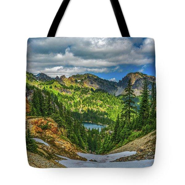 Alpine Solitude Tote Bag