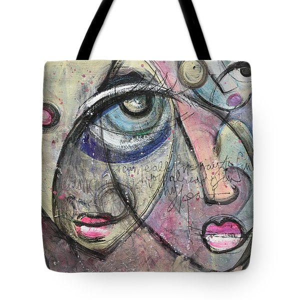 Already In My Heart Tote Bag by Laurie Maves ART