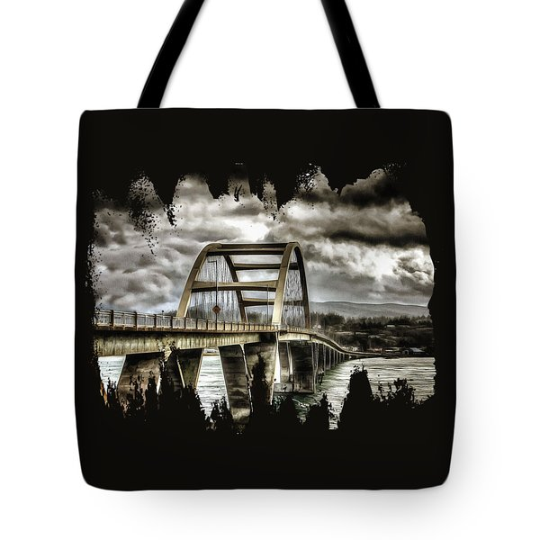 Alsea Bay Bridge Tote Bag