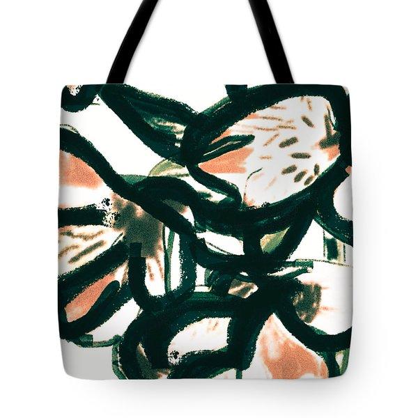 Alstroemeria  Tote Bag
