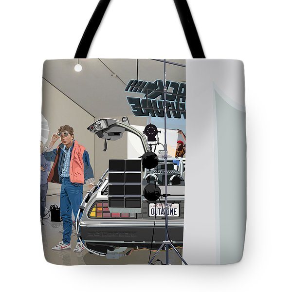 Alt. Poster Angle Tote Bag by Kurt Ramschissel