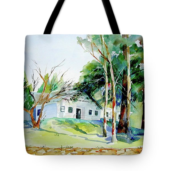 Alta/dutch Flat School Tote Bag