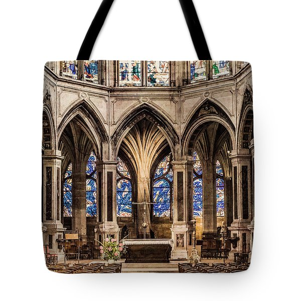 Paris, France - Altar - Saint-severin Tote Bag