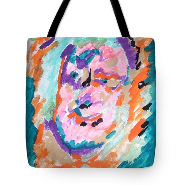 Tote Bag featuring the painting Alter Ego by Esther Newman-Cohen