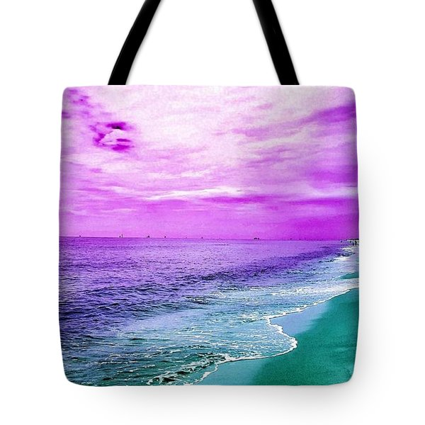 Alternate Beach Escape Tote Bag
