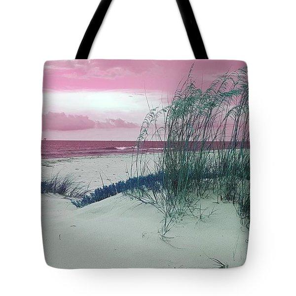 Alternate Beachscape  Tote Bag by Rachel Hannah