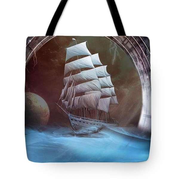 Alternate Perspectives Tote Bag by Mario Carini
