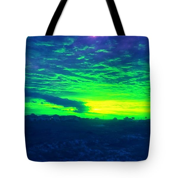 Alternate Sunset Tote Bag