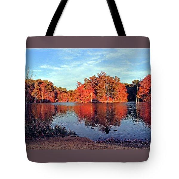 Alum Creek Landscape Tote Bag