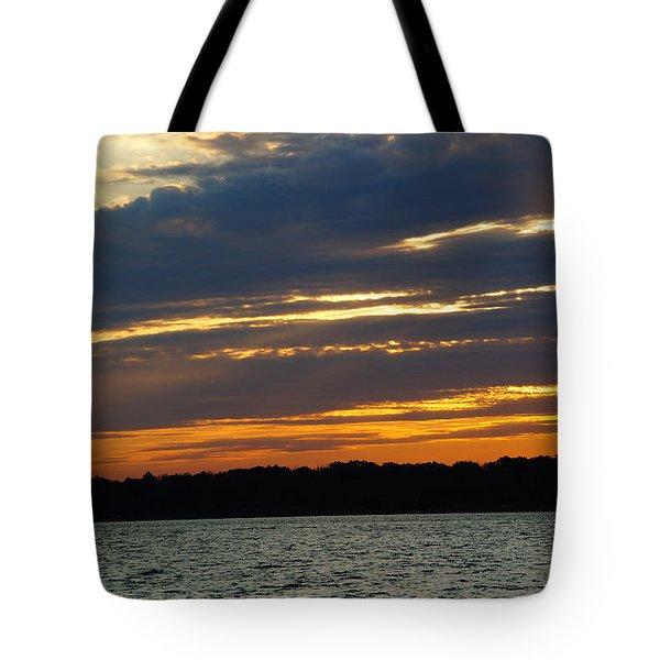 Alum Creek Sunset Tote Bag