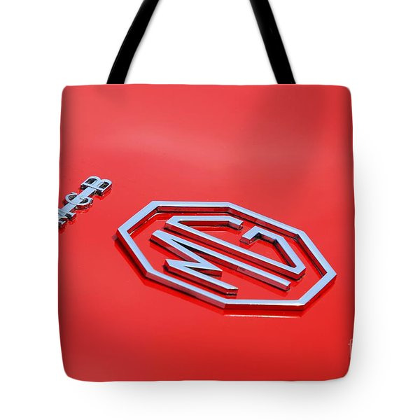 Tote Bag featuring the photograph Aluminum Font by Stephen Mitchell
