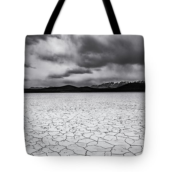 Tote Bag featuring the photograph Alvord Desert by Cat Connor