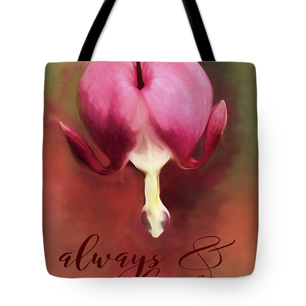 Always And Forever Tote Bag by Darren Fisher