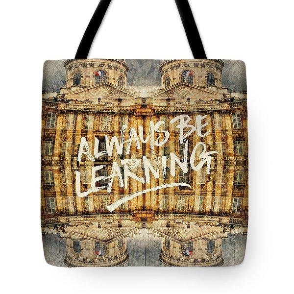 Always Be Learning Institut De France Paris Architecture Tote Bag
