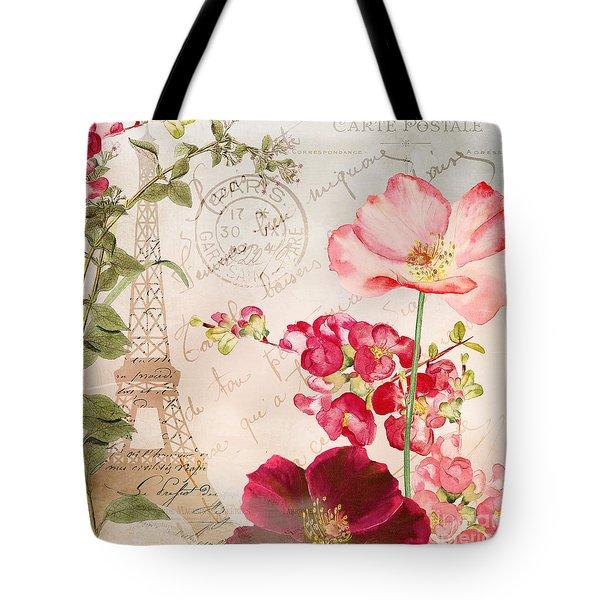 Always Paris Tote Bag