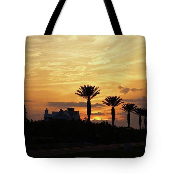 Alys At Sunset Tote Bag