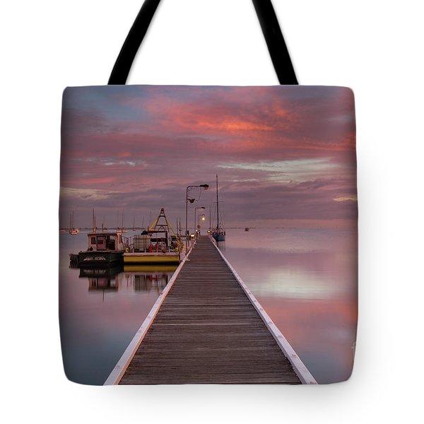 A.m. Solitude Tote Bag