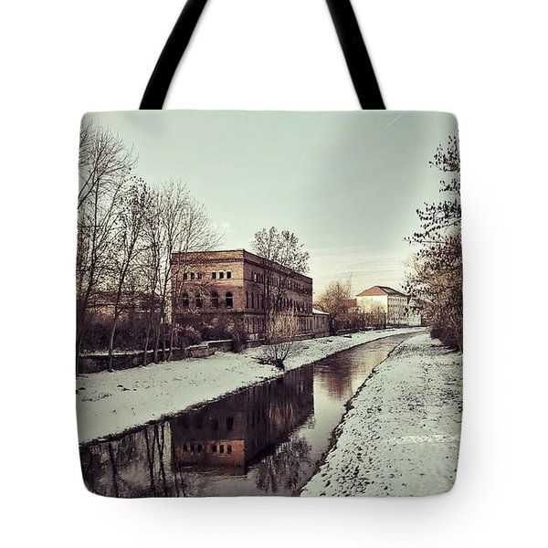 Am Zorge-ufer Tote Bag