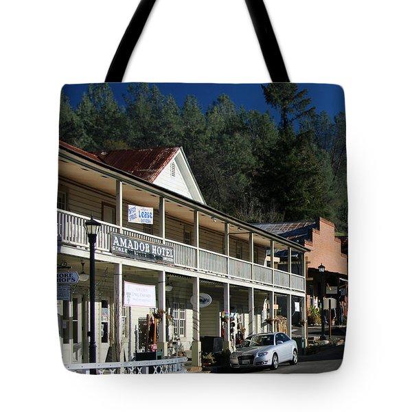 Amador City Main Street Tote Bag
