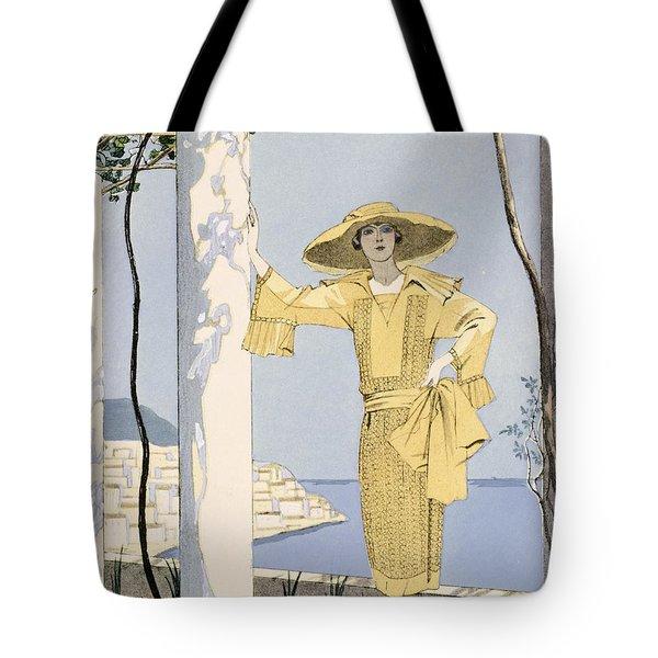 Amalfi Tote Bag by Georges Barbier