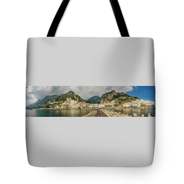 Tote Bag featuring the photograph Amalfi by Steven Sparks