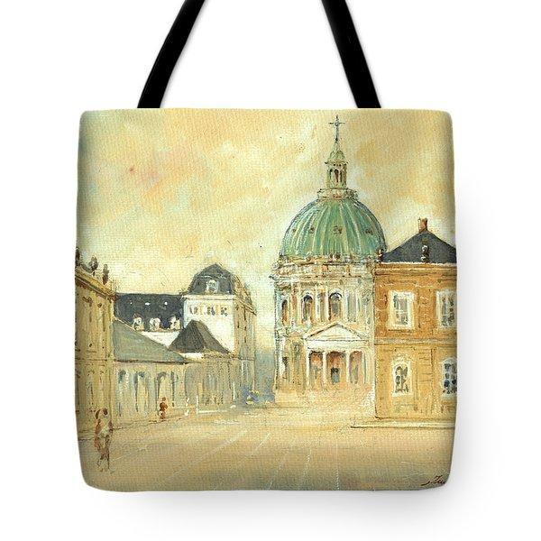 Amalienborg Palace Copenhagen Tote Bag