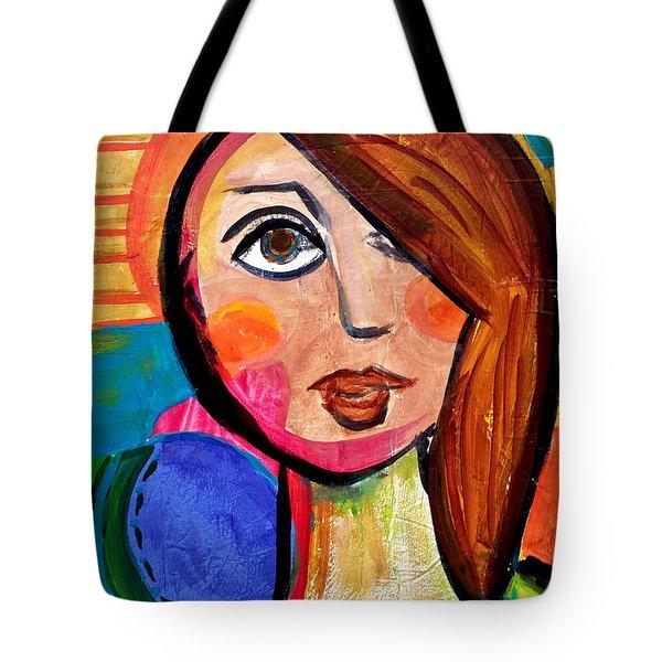 Amanda - Vivid Vixen 1 Tote Bag