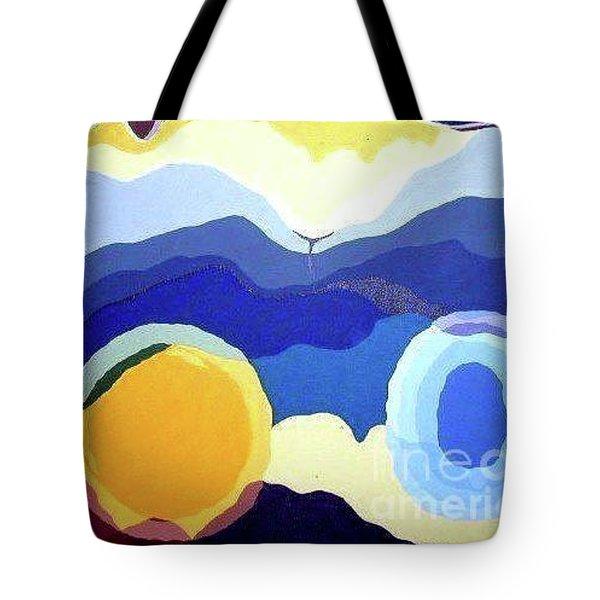 Amandas Abstract Tote Bag
