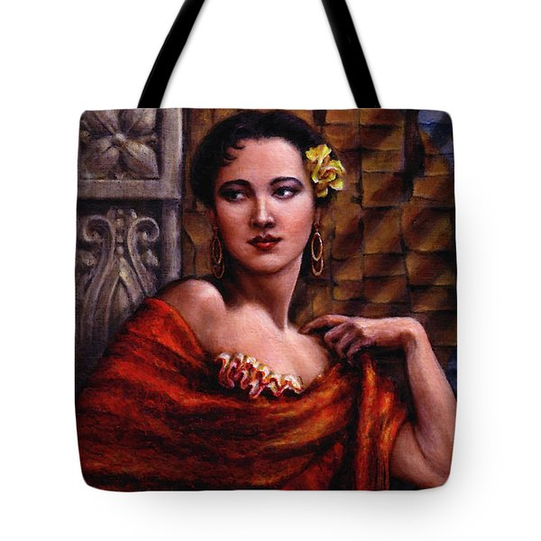 Amarillo Rose Tote Bag by Jane Bucci