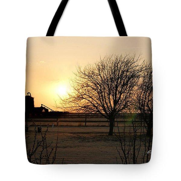 Amarillo Sunset Tote Bag