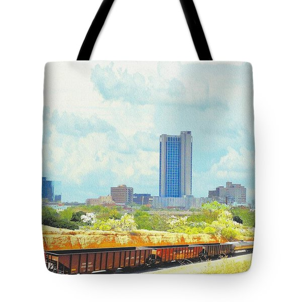 Amarillo Texas In The Spring Tote Bag