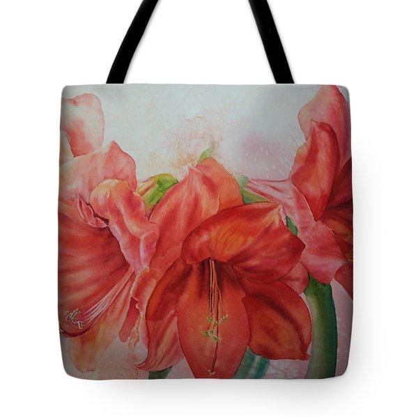 Amarylis Tote Bag