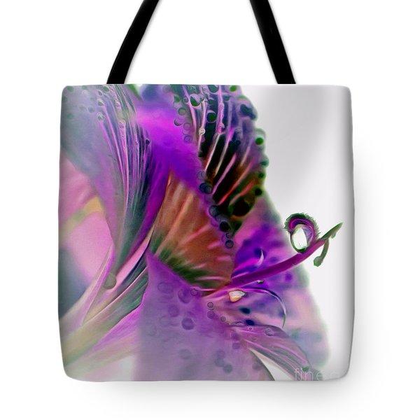 Amaryllis Butterfly II Tote Bag