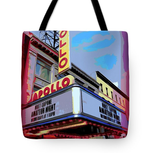 Amateur Night At The Apollo Tote Bag by Ed Weidman