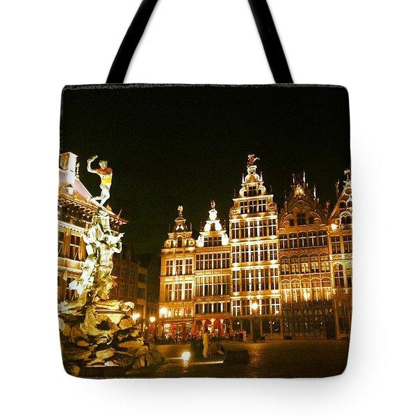 Amazing Romantic Antwerp Tote Bag