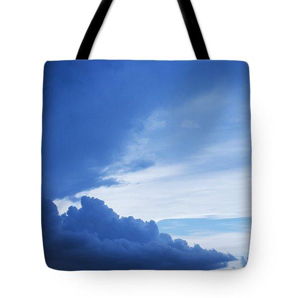 Amazing Blue Sky Vertical Tote Bag