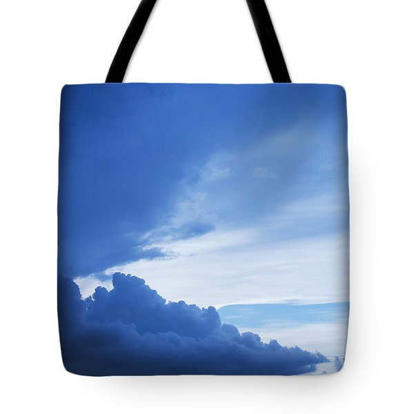 Amazing Blue Sky Vertical Tote Bag