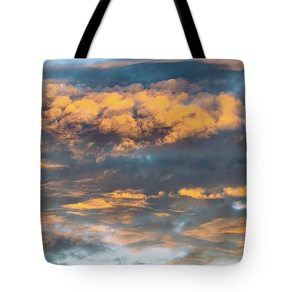 Clouds Of A Different Color Tote Bag