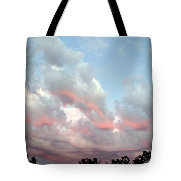 Amazing Clouds At Dusk Tote Bag